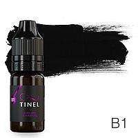 Пигмент для татуажа Tinel B1 Черный лёд 10 мл