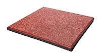 Резиновые плиты для детских площадок ,  30 мм, красные