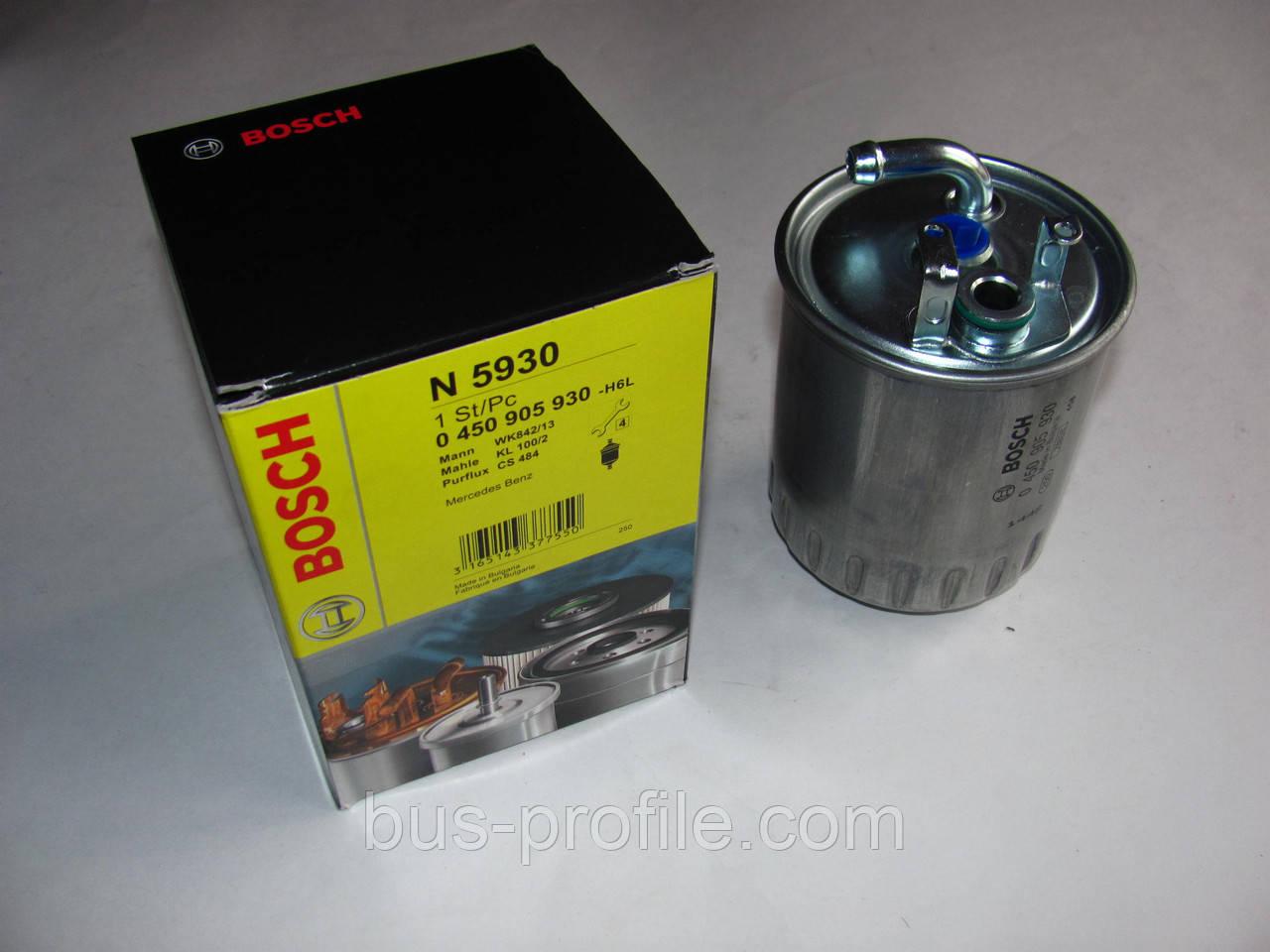 Топливный фильтр на MB Sprinter/Vito CDI OM611/612 2000-2006 — Bosch — 0450905930
