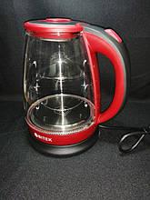 Чайник электрический Bitek BT-3110 Красный 1.8L 2400W LED подсветка