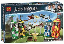 """Конструктор BELA Гарри Поттер 11004 """"Матч по квиддичу"""" 536 деталей ( аналог LEGO 75956 )"""
