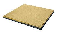 Резиновые плиты террасные, плиты для спортивных площадок, толщина 30 мм, желтые