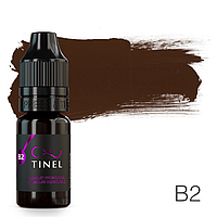 Пигмент для татуажа Tinel B2 Темный шоколад 10 мл