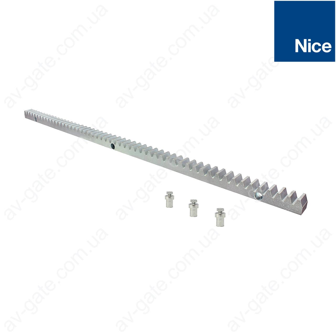 Оцинкованная зубчатая рейка Nice ROA81