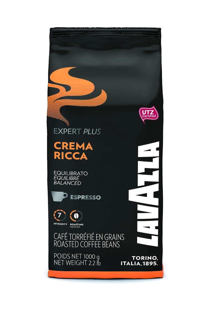 Кава Lavazza Crema Ricca Expert Plus 1 кг зерно