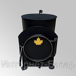 Буржуйка Canada 75 м3 с зольником