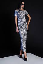 Женское платье в пол с леопардовым принтом (Айша jd), фото 2