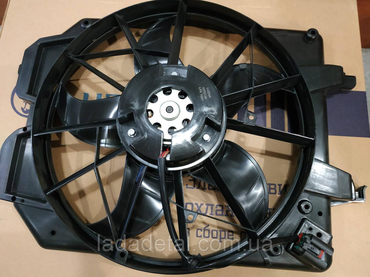 Вентилятор радиатора Форд Фокус Ford Focus I (Лузар)