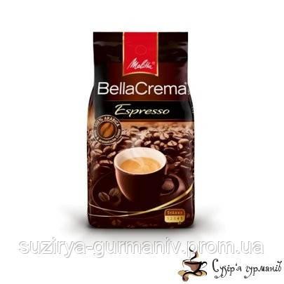 Кофе в зернах Melitta BellaCrema Espresso 1000г, фото 1