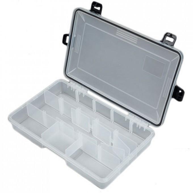 Коробка рибалка. пласт. Salmo WATERPROOF 277х177х50 (1501-05)