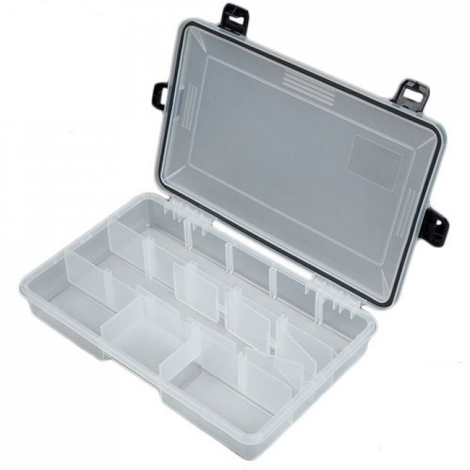 Коробка рыболов. пласт. Salmo WATERPROOF  277х177х50 (1501-05)