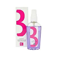 Флюид для защиты светлых волос kallos blossy crystal fluid for blond hair 80 мл,