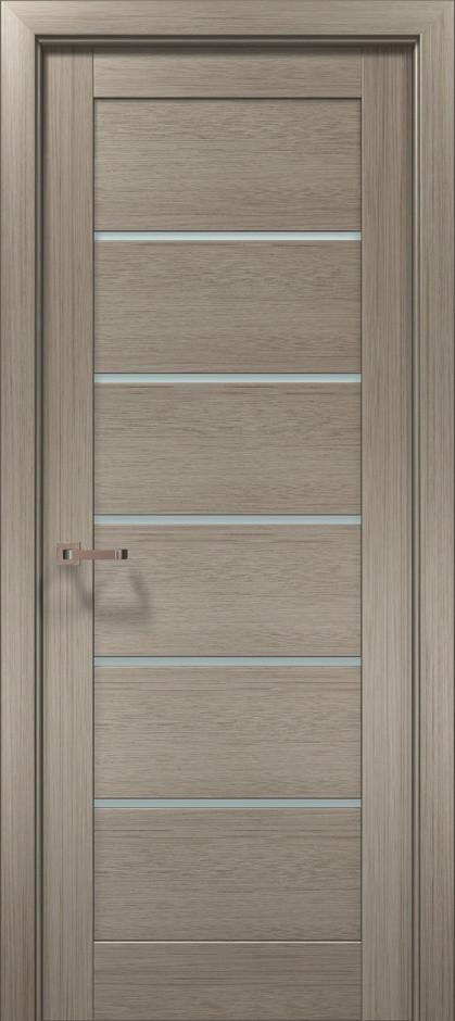 "Двери межкомнатные Папа Карло ""Optima-04"" клен серый"