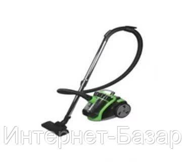 Пылесос Grunhelm GVC8210G (черно-зеленый)