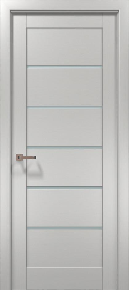 """Двери межкомнатные Папа Карло """"Optima-04"""" клен белый"""