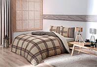 Полуторное постельное белье TAC Avita camel Фланель