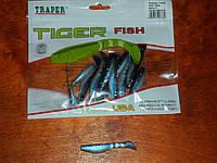 Силиконовые приманки TIGER 70mm, фото 1