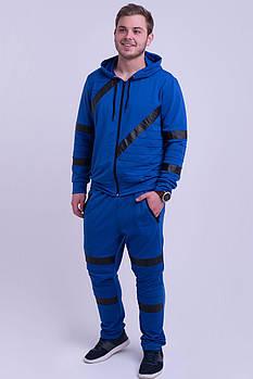 / Размерный ряд 48,50,52,54,56 / Мужской спортивный костюм Конти, для современных и активных мужчин / электрик