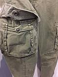 Модные подростковые котоновые брюки для мальчика 134 см, фото 8