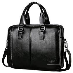 Портфель-сумка мужской A4 Polo Vicuna V6620 деловой черный