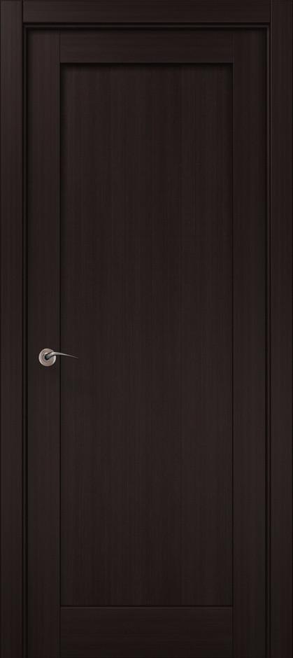 "Двери межкомнатные Папа Карло ""Millenium-00 F"" венге"