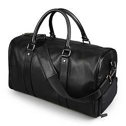 Дорожная сумка саквояж 26 л Polo Vicuna V110 черная