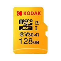 Высокоскоростная карта памяти Kodak U3 A1 V30 Micro SD 128 ГБ, фото 1