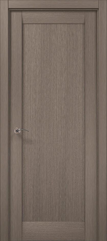 "Двери межкомнатные Папа Карло ""Millenium-00 F"" дуб серый браш"