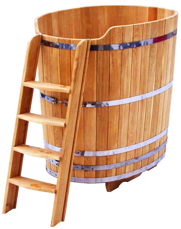 Купель для бани из дуба под ключ