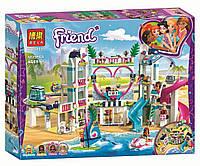 "Конструктор Bela 11035 (Аналог Lego Friends 41347) ""Курорт в Хартлейк Сити"" 1029 деталей"
