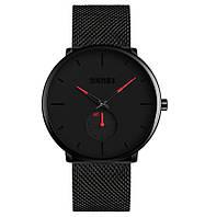 Skmei 9185 design  с красными стрелками мужские часы, фото 1