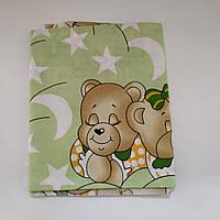 Детская простынь-пеленка для новорожденного