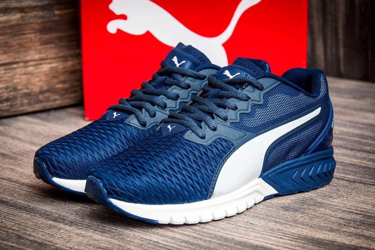 Кроссовки женские Puma Ignite, темно-синие (2549-1) размеры в наличии ► [  36 37  ]