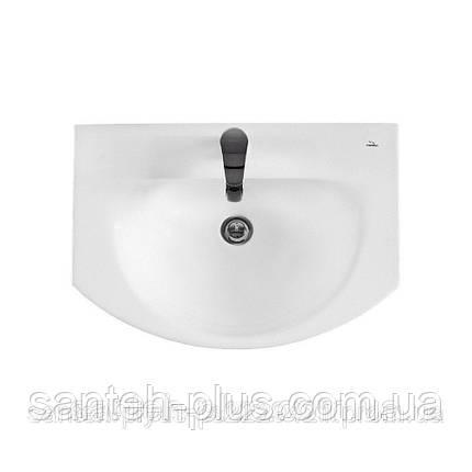 Тумба для ванной комнаты с 2 выдвижными ящиками Грация Т5 с умывальником Лотос-70, фото 2