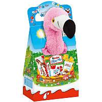 Kinder Maxi Mix с мягкой игрушкой Фламинго