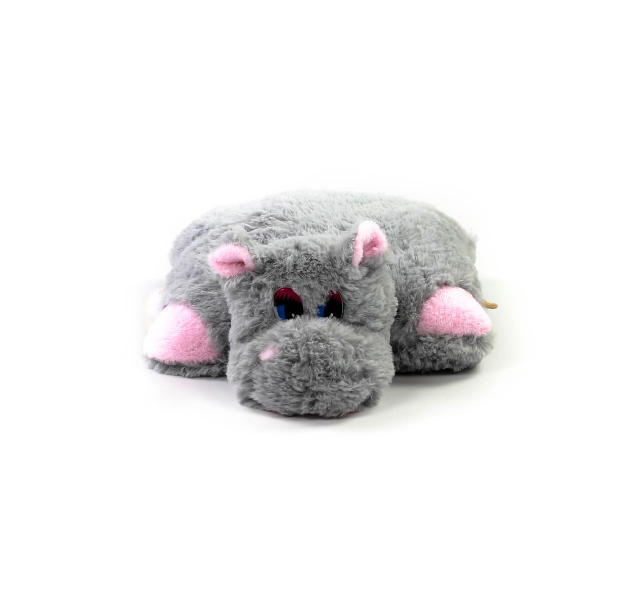 М'яка іграшка Бегемот-Подушка