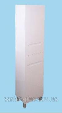 Пенал для ванной Висла-40 К с бельевой корзиной, на ножках, фото 2