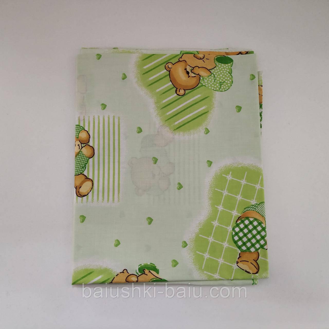 Пеленка детская для новорожденного в роддом, бязь