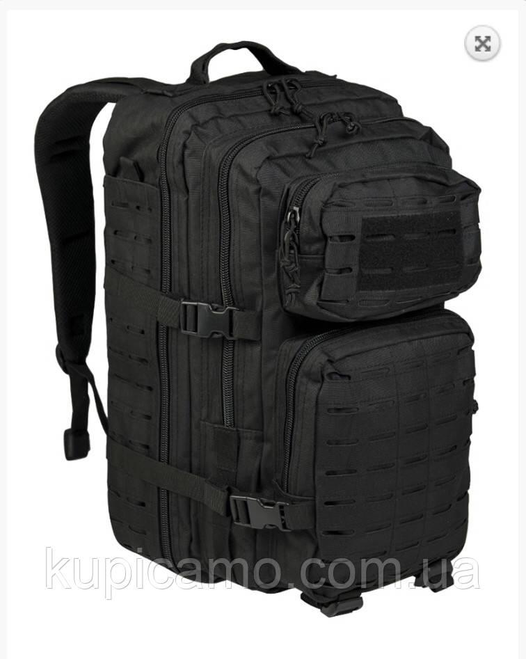 """Рюкзак """"Mil-tec"""" us ASSAULT pack LG LAZER CUT BLACK 36л"""
