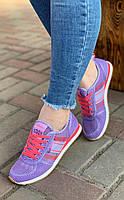 Кроссовки женские 8 пар в ящике фиолетового цвета 36-41, фото 2