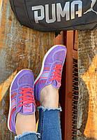 Кроссовки женские 8 пар в ящике фиолетового цвета 36-41, фото 3