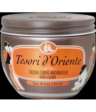 Tesori d´Oriente Крем для тела фиор ди лото и карите