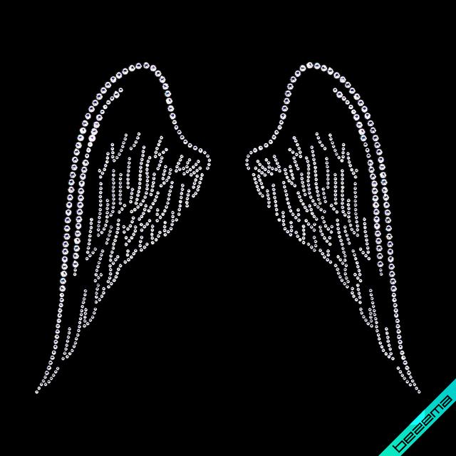 Декор на юбки Крылья (Стекло,2мм-бел.,3мм-бел.,4мм-бел.)