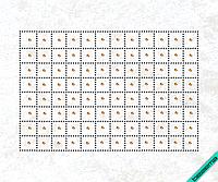 Рисунки на дубленки Pоссыпь (Стекло,2мм-красн.,2мм-зол.,2мм-жел.,5мм-роз.,5мм-зол.)