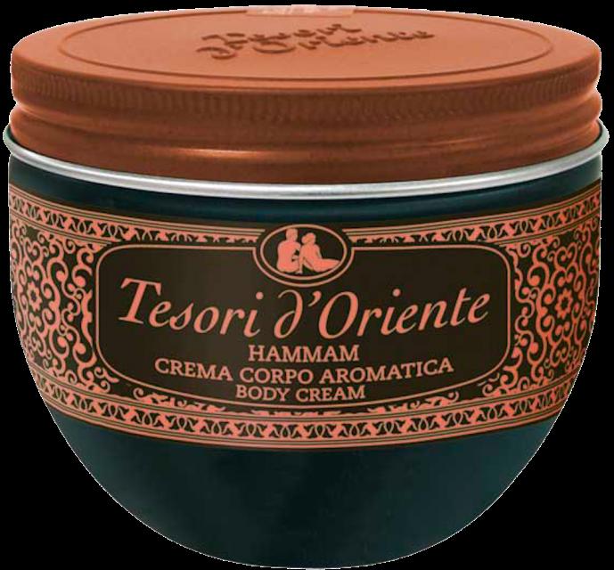 Tesori d´Oriente Крем для тела аргановое масло и желтые цветы