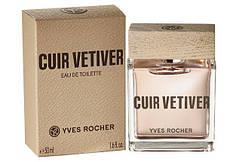 Туалетная вода Cuir Vetiver Yves Rocher