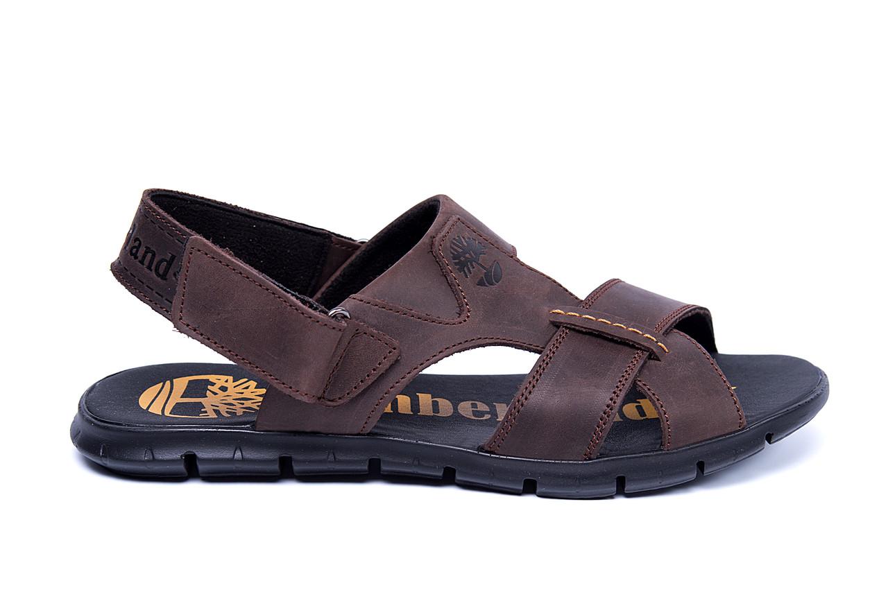 Мужские кожаные сандалии Timberland (реплика), фото 1