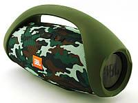 Колонка самая БОЛЬШАЯ JBL Boombox BIG. Блютуз колонка беспроводная + Подарки Камуфляж
