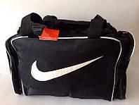 Модная черная спортивная сумка Nike