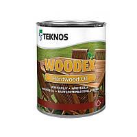 Масло для твердых пород древесины Teknos WOODEX HARDWOOD OIL, 1 л